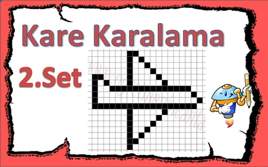 Kare Karalama 2.Set