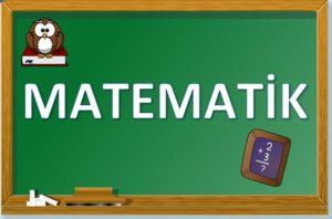 MATEMATİK 1.Sınıf